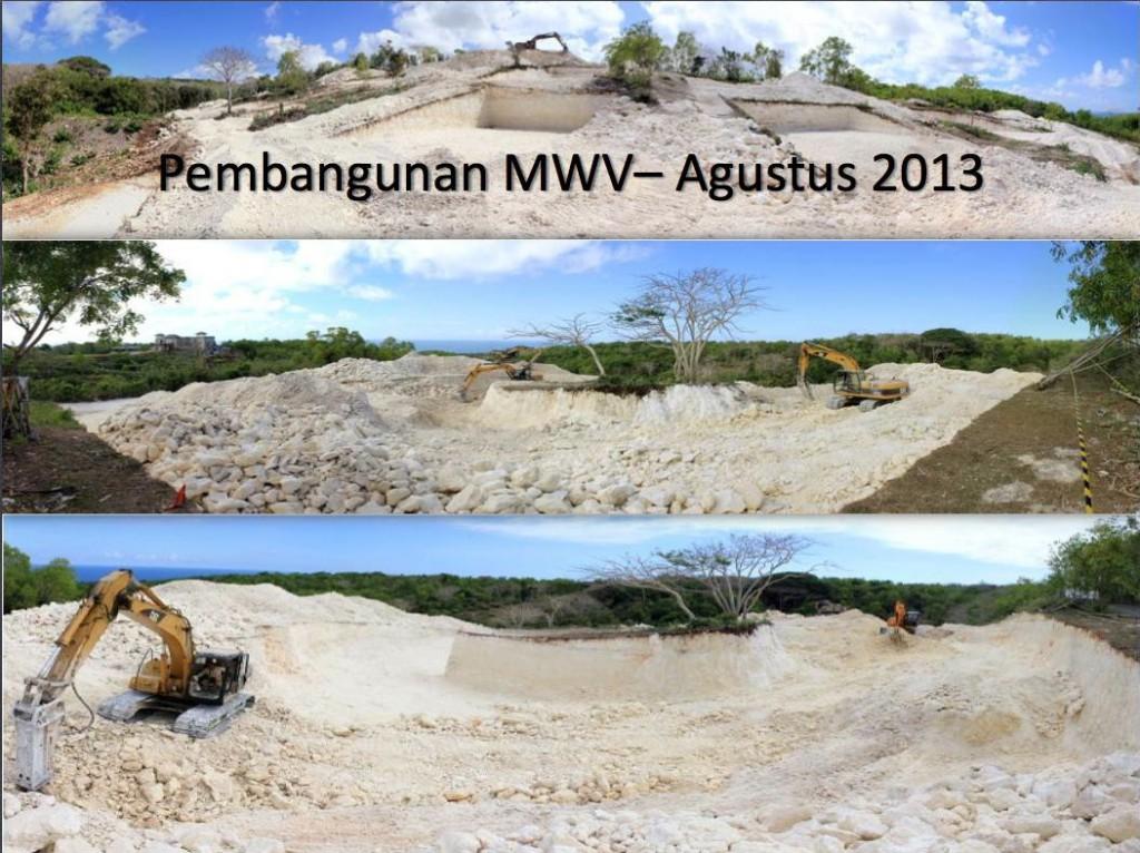 Pembangunan Majestic Water Village