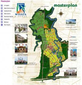 Masterplan Kota Wisata Cibubur