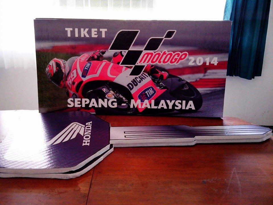 Tiket Gratis Nonton Moto GP 2014 di Sepang
