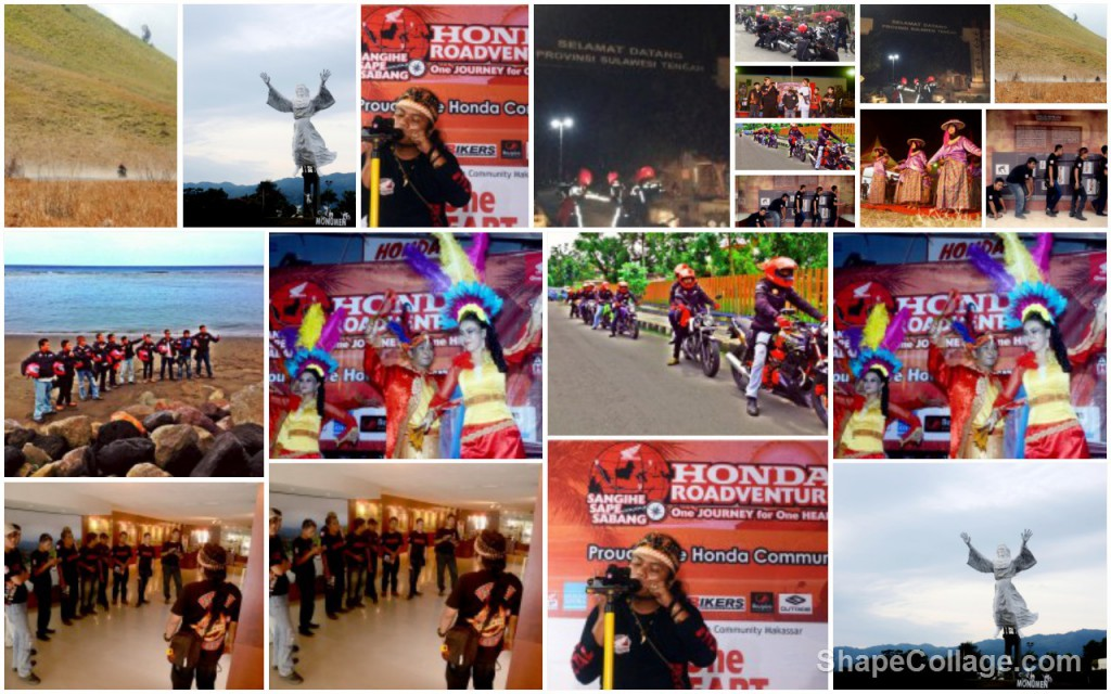 Suasana Perjalanan Honda Roadventure 2013, Sumber Gambar : Honda Roadventure