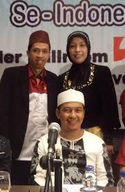 Bapak Cheriatna & Ibu Farida bersama Alm. Ustadz Jeffry