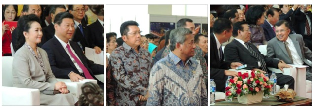 Pembukaan Pameran Hubungan Indonesia - Tiongkok di Museum Nasional, Sumber : Facebook MNI