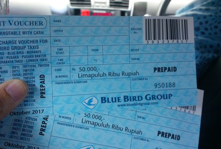 Voucher Blue Bird