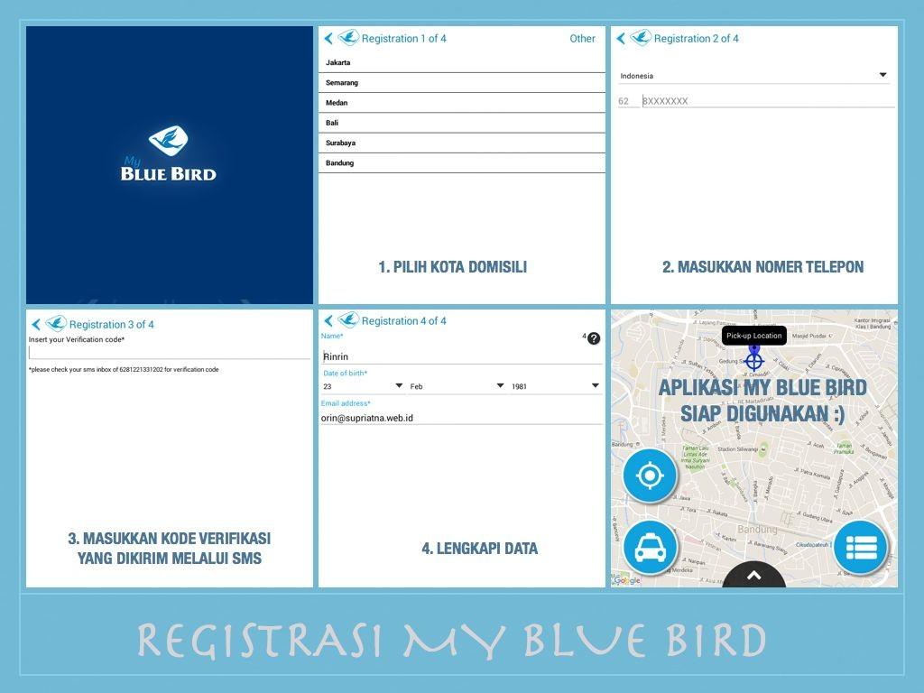 Registrasi #MyBlueBird