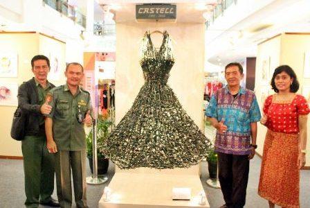 Pameran Karya Seni #KreativitasTanpaBatas Faber-Castell Festival Citylink Bandung