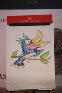 Doodling Faber-Castell, Try Purnama