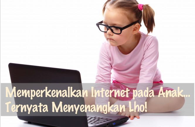 anak dan internet