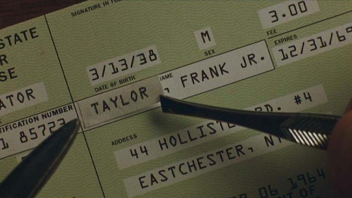 "Altered check with OCR-A font in the Steven Spielberg movie ""Catch Me If You Can"""