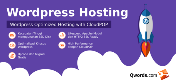 wordpress hosting qwords
