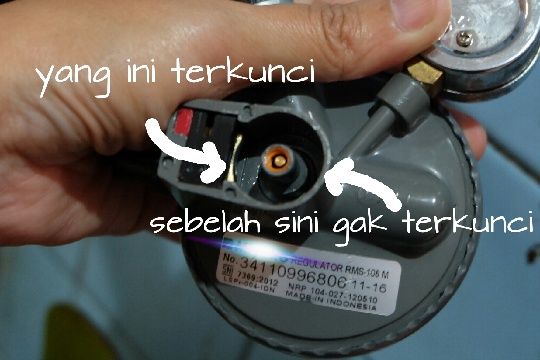 memilih regulator