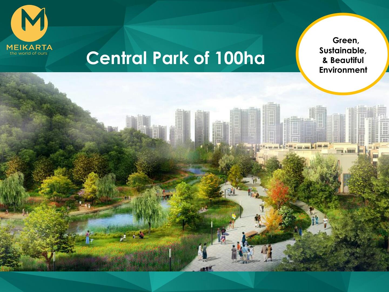 Central Park 100ha