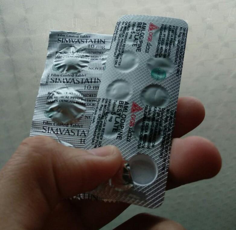 obat kolesterol dan hipertensi